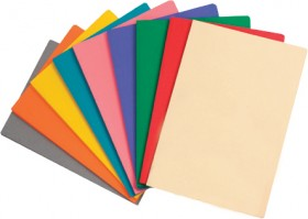 OfficeMax-Coloured-Foolscap-Manilla-Folders on sale