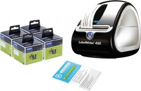 Dymo-Labelwriter-450-Turbo-Portable-Label-Printer on sale