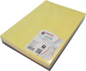 TJINDGARMI-Cover-Paper-A4-Skin-Tone-Assorted-Colours on sale