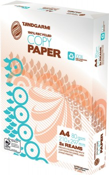 TJINDGARMI-A4-100-Recycled-Copy-Paper on sale