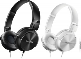 Philips-On-Ear-Headphones-with-Mic on sale
