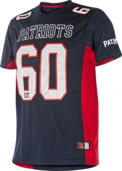 New-England-Patriots-Mens-Mesh-Tee on sale