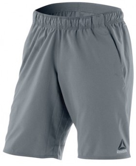 Reebok-Mens-Workout-Ready-Graphic-Shorts-Grey on sale