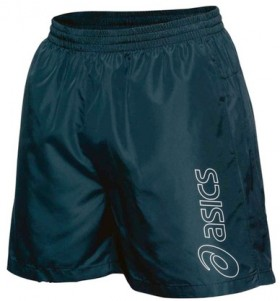 Asics-Mens-Essential-Logo-5-Shorts-Black on sale