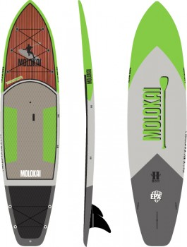 Molokai-Epoxy-Tourer-106-SUP-Board-Green on sale