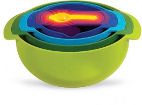 Joseph-Joseph-Nest-9-Plus-Food-Preparation-Set-Multicolour on sale