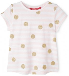 Sprout-Girls-Essential-Tee-Pale-Pink on sale