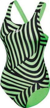 Speedo-Girls-School-Colours-One-Piece-Swimwear-Green on sale