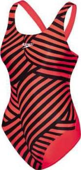 Speedo-Girls-School-Colours-One-Piece-Swimwear-Red on sale