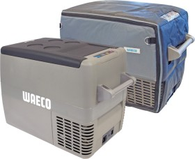 Waeco-CF40-Fridge-Freezer-and-Cover-Pack on sale