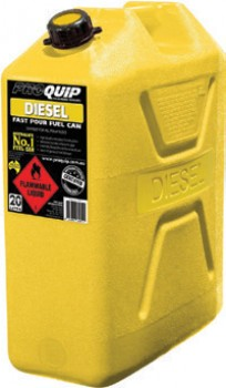 Proquip-20L-Plastic-Jerry-Can-Diesel on sale