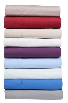 Koo-250-Thread-Count-Individual-Flat-Sheets on sale