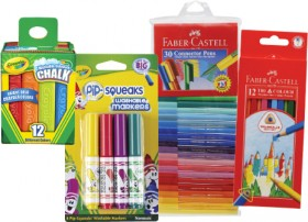 25-Off-Crayola-Faber-Castell on sale