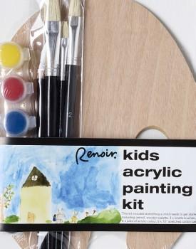 Renoir-Paint-Canvas-Kids-Art-Kit on sale