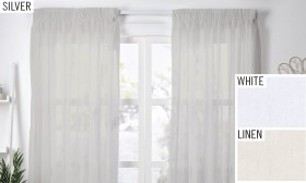 30-off-Montego-Pencil-Pleat-Sheer-Curtains on sale