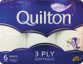 Quilton-3-Ply-Toilet-Tissue-6-Pack on sale