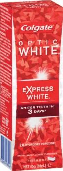 Colgate-Optic-White-Express-White-Toothpaste-85g on sale
