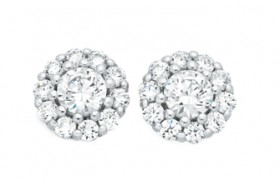 Sterling-Silver-CZ-Studs on sale