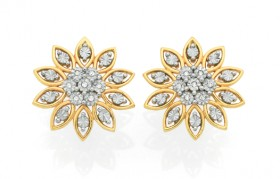 9ct-Gold-Diamond-Studs on sale