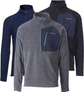 Cederberg-Mens-Lancefield-II-14-Zip-Pullover-Micro-Fleece on sale