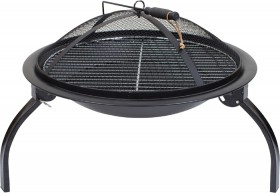 Fire-Pit-with-Grill on sale