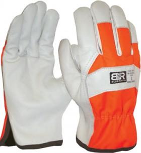 Blue-Rapta-Hi-Vis-Backed-Leather-Riggers-Gloves on sale