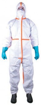 Blue-Rapta-Microporous-65gsm-Type-4-Coverall on sale