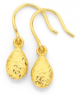 9ct-Gold-Earrings on sale