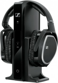 Sennheiser-Wireless-Digital-Over-Ear-RS165-Headphones-Black on sale