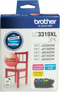 Brother-LC3319XL-Colour-Value-Pack on sale