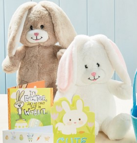 Coles-Easter-Sitting-Bunny on sale