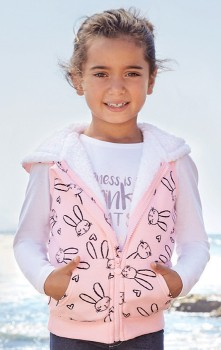 Girls-Sherpa-Vest on sale