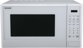 Sharp-1100W-Mid-Size-Microwave-White on sale