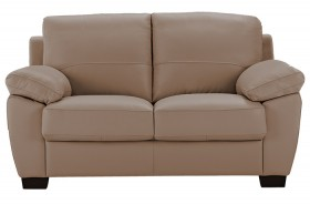 Lucas-2-Seat-Leather-Sofa-in-Lawson-Pebble on sale