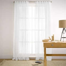 Mineral-180x250cm-Sheer-Curtain-in-White on sale