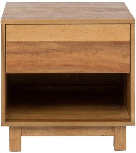 Reno-1-Drawer-Bedside-Table-in-Natural on sale