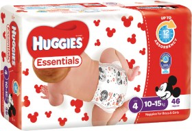 Huggies-Essentials-Nappies-Toddler on sale
