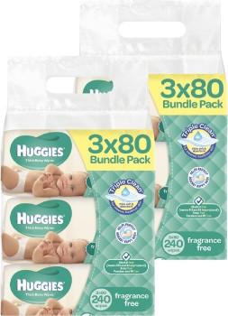Huggies-Baby-Wipes-Unscented-Jumbo-Refill-2-Bundles-of-240 on sale