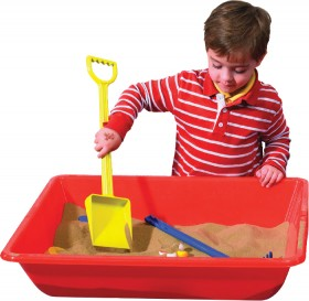 Educational-Colours-Sand-Water-Play-Tray on sale