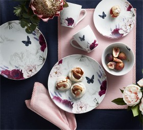 NEW-Heritage-Botanics-Porcelain-16pc-Dinnerset on sale
