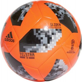 adidas-Telstar-18-Glider-Football-Orange on sale