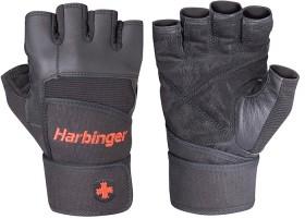 Harbinger-Mens-Pro-Wristwrap-Strength-Gloves on sale