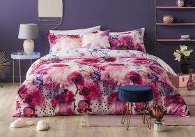 NEW-Ombre-Home-Distorted-Blooms-Harriet-Quilt-Cover-Set on sale