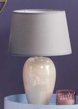 NEW-Ombre-Home-Distorted-Blooms-Lamp on sale