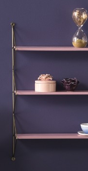 NEW-Ombre-Home-Distorted-Blooms-3-Tier-Shelving on sale