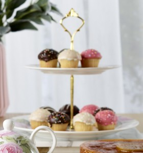 25-off-NEW-Kitch-Co.-Mothers-Day-High-Tea-2-Tier-Cake-Stand on sale