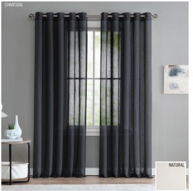 30-off-Linton-Ready-to-Hang-Eyelet-Sheer-Curtains on sale