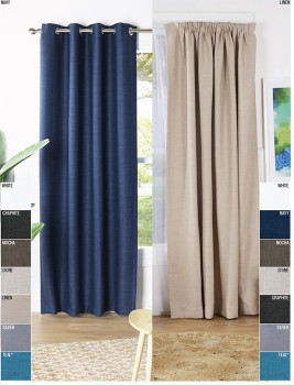 40-off-Rylee-Triple-Weave-Eyelet-Pencil-Pleat-Curtains on sale