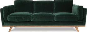 Dahlia-3-Seat-Fabric-Sofa-in-Cozy-Pine-Green on sale
