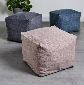 All-Velvet-Textured-Ottomans on sale